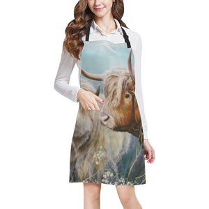 cow All Over Print Apron 25