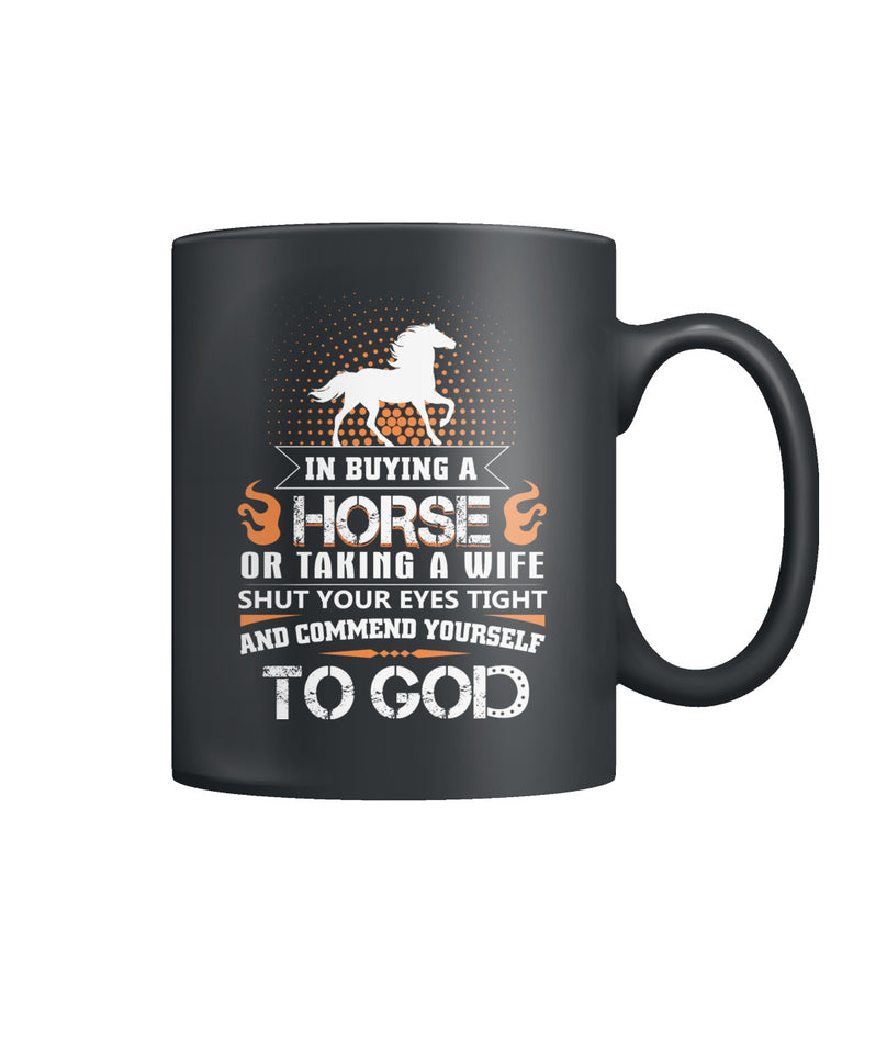 In buying a horse