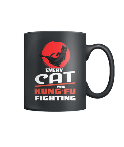Every cat was kung fu fighting