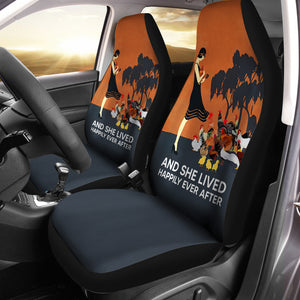 And She Lived Chicken Car Seat Covers