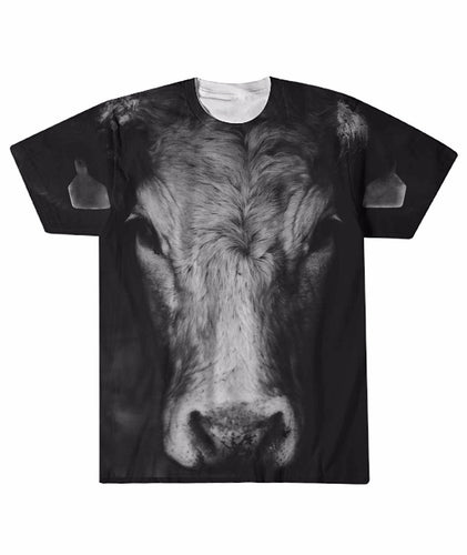 Full Black cow - shirt