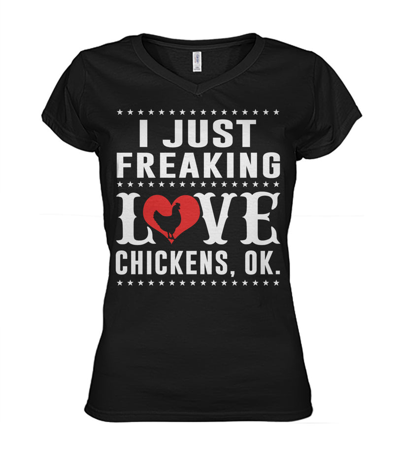 i just freaking love chickens, ok