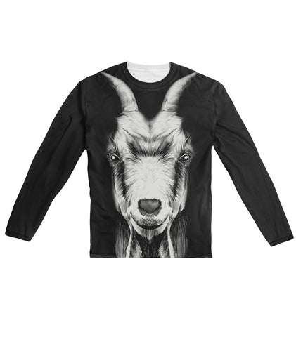Black & White - Goat AOP Sublimation Long Sleeve