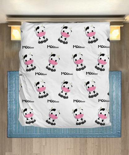 Microfiber Duvet Cover for Cow Lovers 05