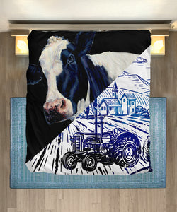 Microfiber Duvet Cover for Cow Lovers 06