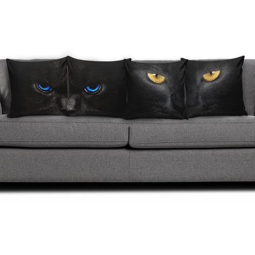 4 pillow covers - Cat Lovers 01