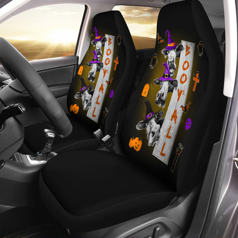 Boo Y'all  Car Seat Covers