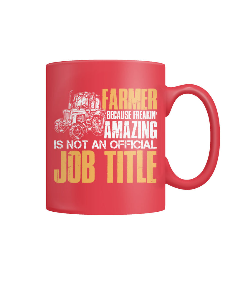 Farmer because