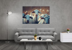 Adorable Goats - Wall art (USA only)