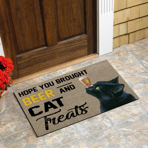 Cat Doormat Floor Mat Door Mat For Indoor Or Outdoor Use, Utility Mat For Entryway, Home Gym