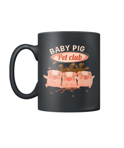 Baby pig pet club  Color Coffee Mug