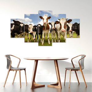 Wall Art 5pcs - Cow Lovers 05