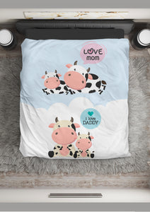 Microfiber Duvet Cover for Cow Lovers 11