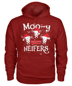 Moo-y christmas heifers