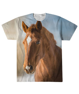 All over print tshirt- Horse 09