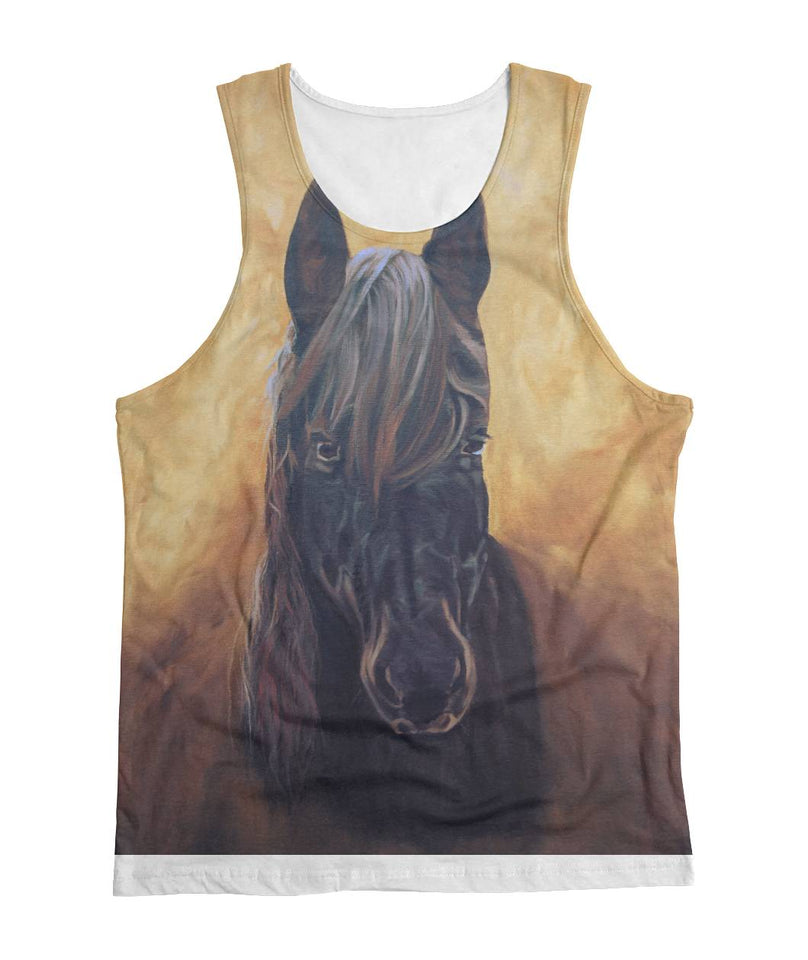 All over print tshirt- Horse 01