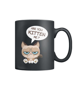 Are you kitten me? -  Color Coffee Mug