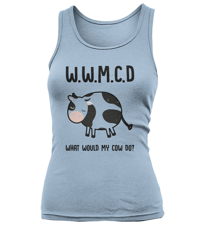 What would my cow do - W.W.M.C.D - Barnsmile.com-Barnsmile.com-shirt, tees, clothings, accessories, shoes, home decor