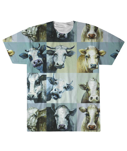 Cow Lovers Sublimation Tee