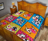 Quilt for Cow Lovers 07