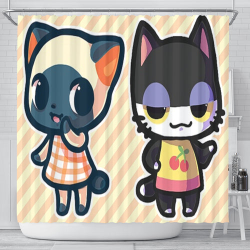 Cutie Pie Cats Shower Curtain