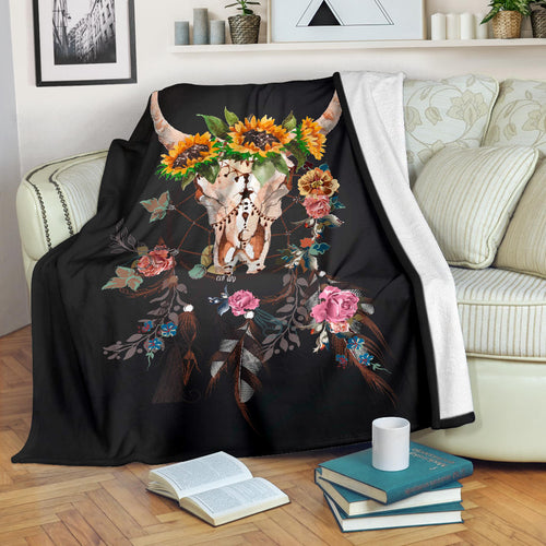 Premium Blanket Cute Cow Printed-sk08