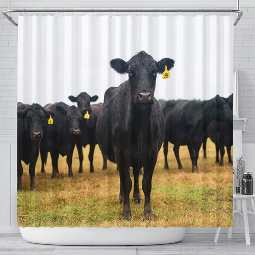 Shower Curtain - Cow Lovers 13