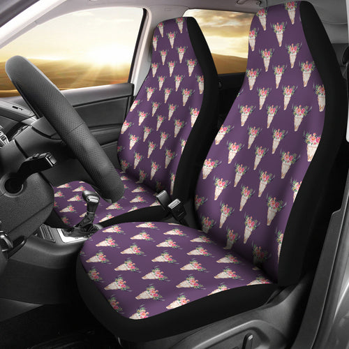 Cow skull pattern - Car Seat Covers
