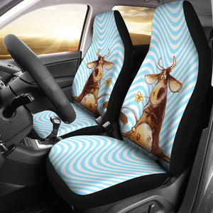 Car Seat Covers - Cow Lovers 20