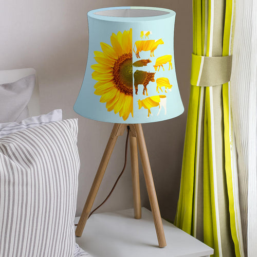 Drum Lamp Shade - Cow Lovers 04
