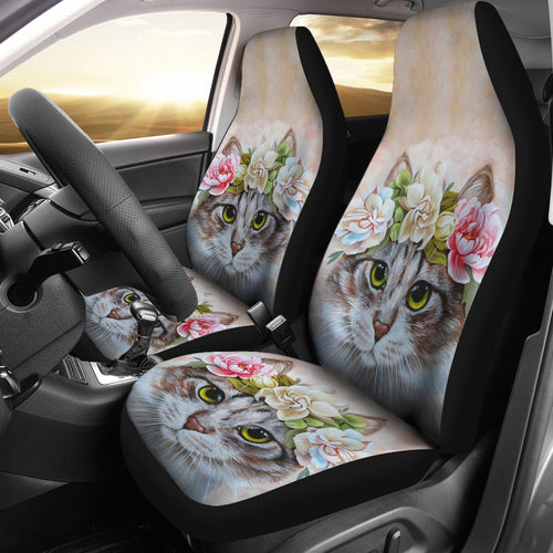 Car Seat Covers - Cat Lovers 10