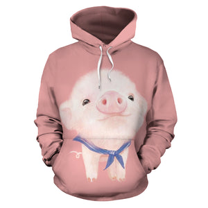 All over print hoodie for men & women - pig 07