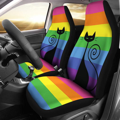 Car Seat Covers - Cat Lovers 21