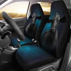 Cow galaxy-2 car seat covers