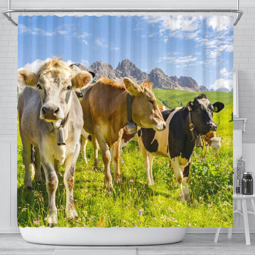 Shower Curtain - Cow Lovers 15
