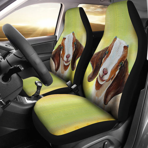 Goat 08 - car seat covers