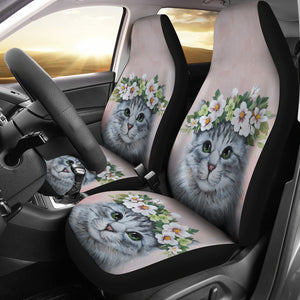 Car Seat Covers - Cat Lovers 09