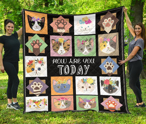 Quilt for Cat Lovers 01