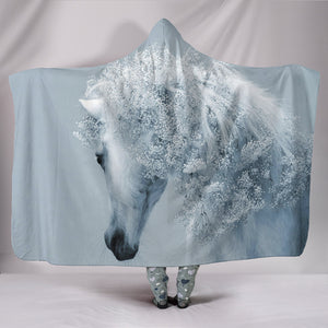 Hooded Blanket - horse style 41