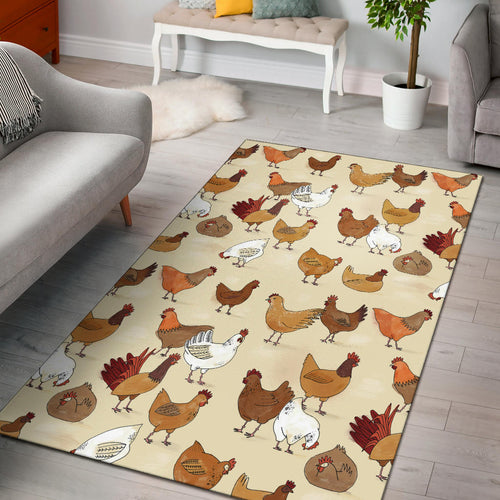 Area Rug - Chicken Lovers 01