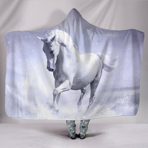 Hooded Blanket - horse style 22