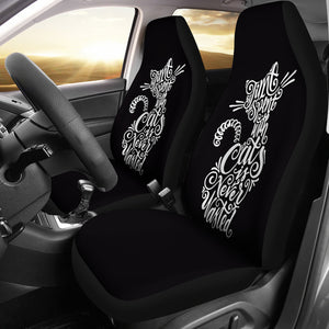 Car Seat Covers - Cat Lovers 19