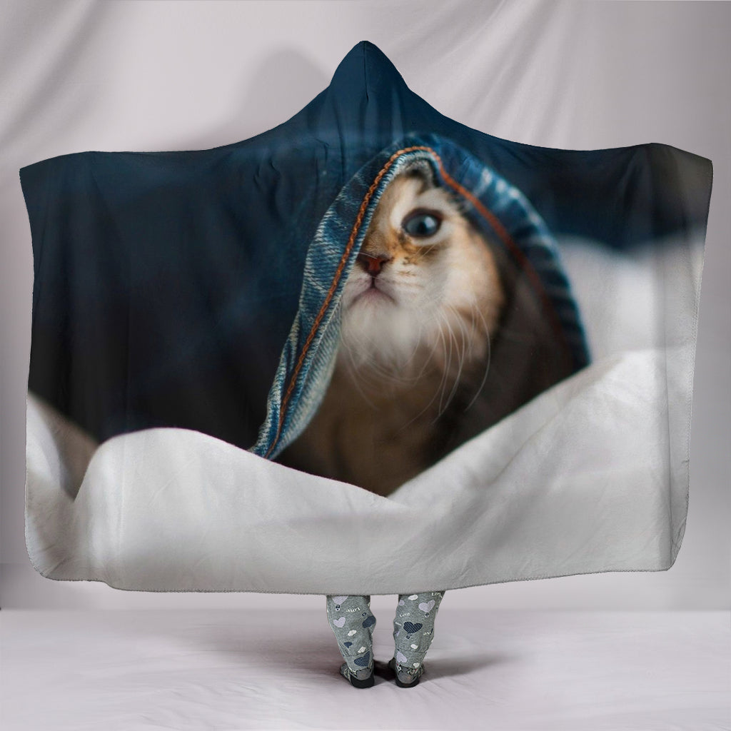 Hooded Blanket - Cat 39