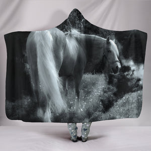 Hooded Blanket - horse style 18