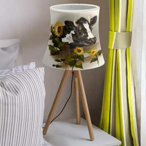 Drum Lamp Shade - Cow Lovers 03