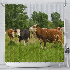 Shower Curtain - Cow Lovers 04