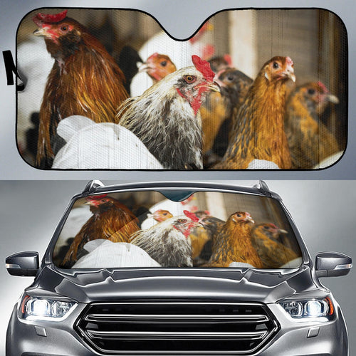 Auto Sun Shades - Chicken 09