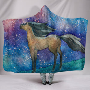 Hooded Blanket - horse style