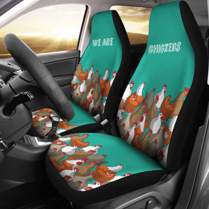 Car Seat Covers - Chicken Lovers 12