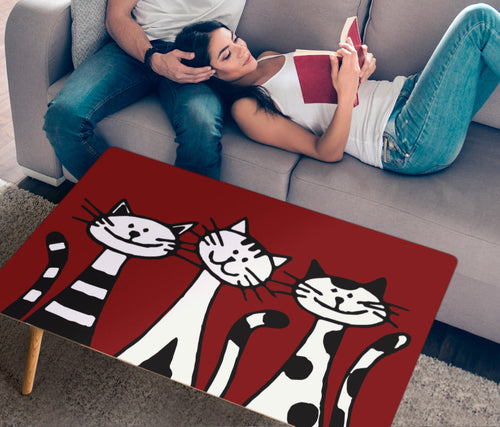 Rectangular Coffee Table - Cat Lovers 01 (US Only)